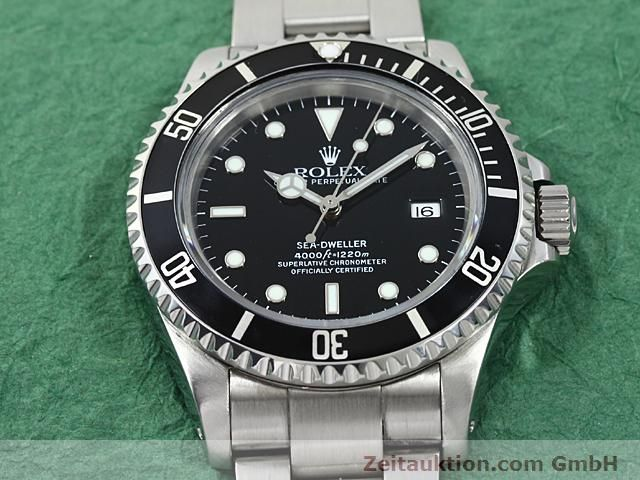 Used luxury watch Rolex Sea Dweller steel automatic Kal. 3135 Ref. 16600  | 140462 14