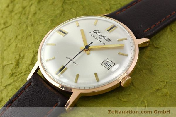 Used luxury watch Glashütte Spezimatic gold-plated automatic Kal. 75  | 140463 01