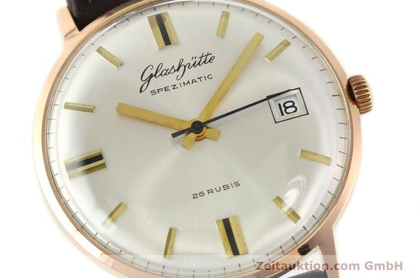 Used luxury watch Glashütte Spezimatic gold-plated automatic Kal. 75  | 140463 02