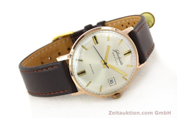 Used luxury watch Glashütte Spezimatic gold-plated automatic Kal. 75  | 140463 03
