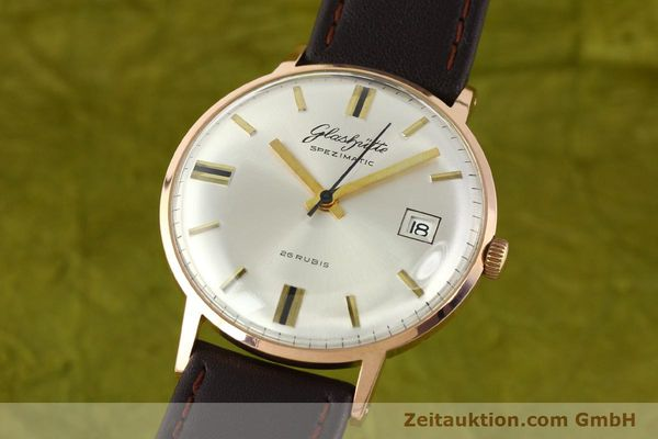 Used luxury watch Glashütte Spezimatic gold-plated automatic Kal. 75  | 140463 04
