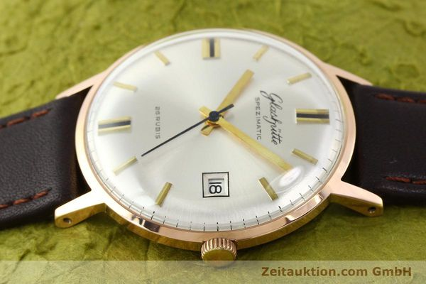 Used luxury watch Glashütte Spezimatic gold-plated automatic Kal. 75  | 140463 05