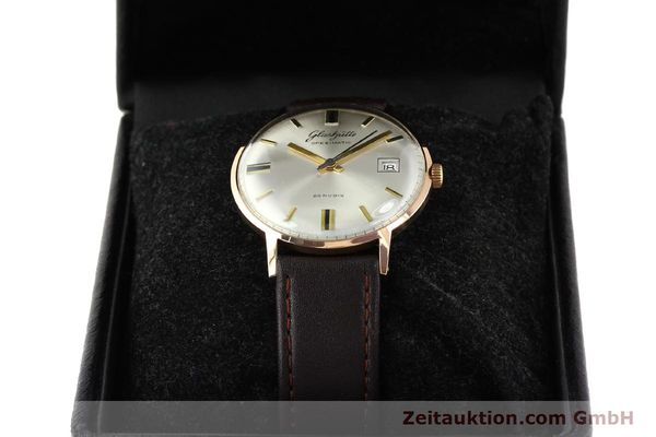 Used luxury watch Glashütte Spezimatic gold-plated automatic Kal. 75  | 140463 07