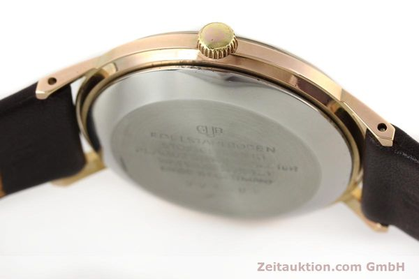 Used luxury watch Glashütte Spezimatic gold-plated automatic Kal. 75  | 140463 08