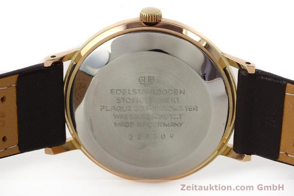 Used luxury watch Glashütte Spezimatic gold-plated automatic Kal. 75  | 140463 09