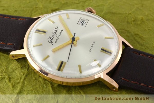 Used luxury watch Glashütte Spezimatic gold-plated automatic Kal. 75  | 140463 12
