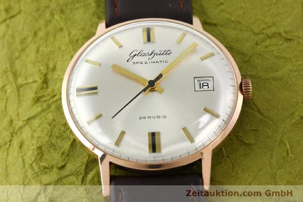 Used luxury watch Glashütte Spezimatic gold-plated automatic Kal. 75  | 140463 13