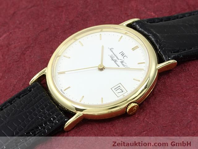 Used luxury watch IWC Portofino 18 ct gold quartz Kal. 2210 ETA 255411 Ref. 3332  | 140464 01