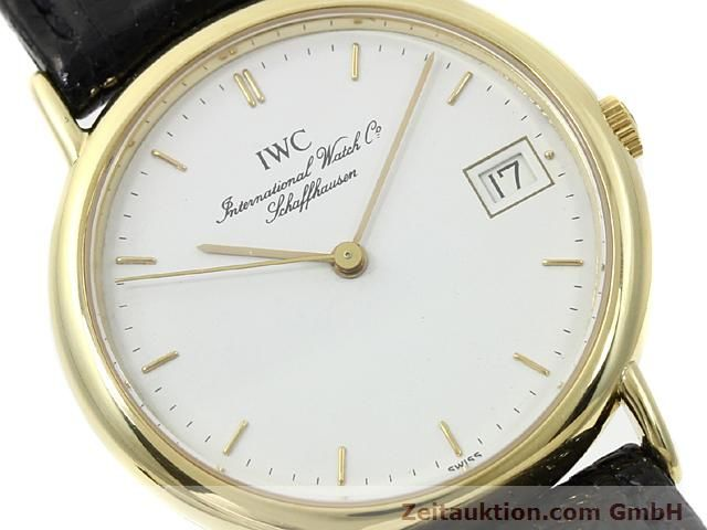 Used luxury watch IWC Portofino 18 ct gold quartz Kal. 2210 ETA 255411 Ref. 3332  | 140464 02
