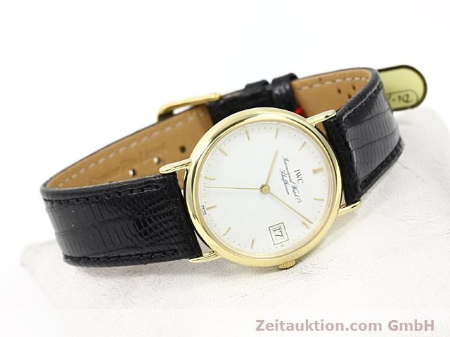 Used luxury watch IWC Portofino 18 ct gold quartz Kal. 2210 ETA 255411 Ref. 3332  | 140464 03