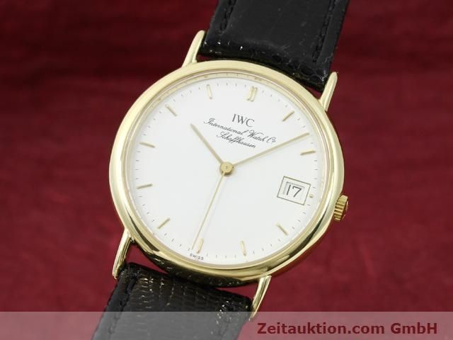 Used luxury watch IWC Portofino 18 ct gold quartz Kal. 2210 ETA 255411 Ref. 3332  | 140464 04