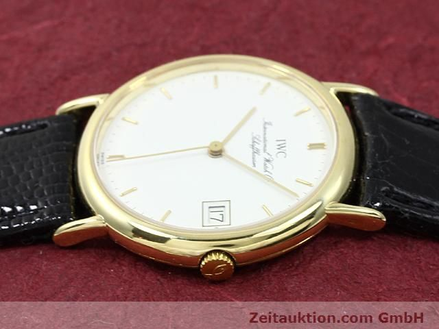 Used luxury watch IWC Portofino 18 ct gold quartz Kal. 2210 ETA 255411 Ref. 3332  | 140464 05