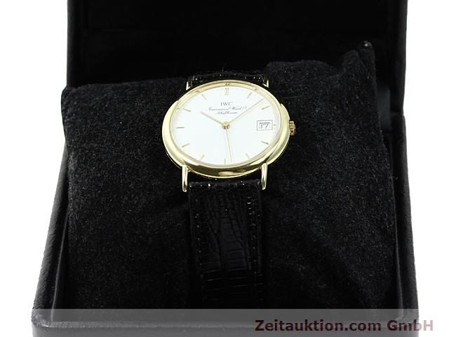 Used luxury watch IWC Portofino 18 ct gold quartz Kal. 2210 ETA 255411 Ref. 3332  | 140464 07