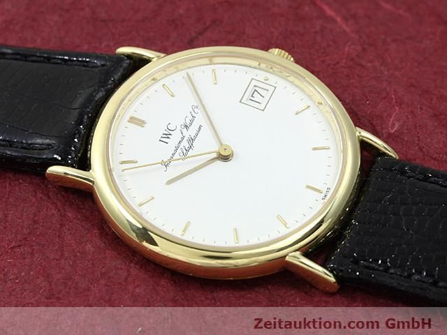 Used luxury watch IWC Portofino 18 ct gold quartz Kal. 2210 ETA 255411 Ref. 3332  | 140464 12