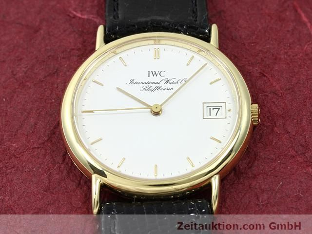 Used luxury watch IWC Portofino 18 ct gold quartz Kal. 2210 ETA 255411 Ref. 3332  | 140464 13