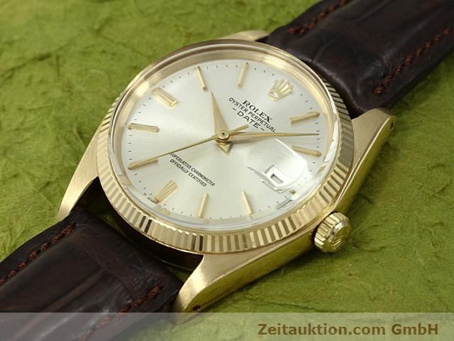 Used luxury watch Rolex Date 18 ct gold automatic Kal. 1560 Ref. 1503  | 140465 01