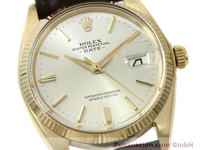 Used luxury watch Rolex Date 18 ct gold automatic Kal. 1560 Ref. 1503  | 140465 02