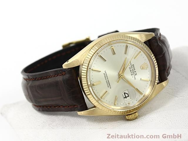 Used luxury watch Rolex Date 18 ct gold automatic Kal. 1560 Ref. 1503  | 140465 03