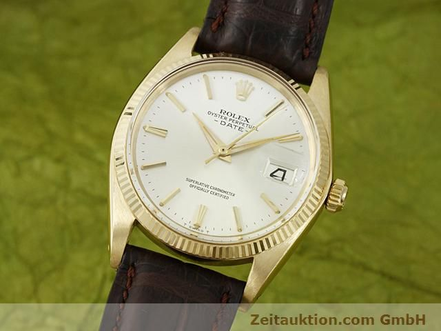 Used luxury watch Rolex Date 18 ct gold automatic Kal. 1560 Ref. 1503  | 140465 04