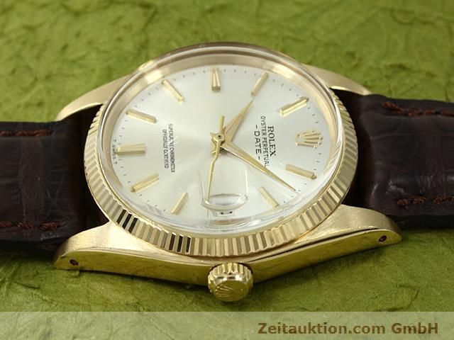 Used luxury watch Rolex Date 18 ct gold automatic Kal. 1560 Ref. 1503  | 140465 05