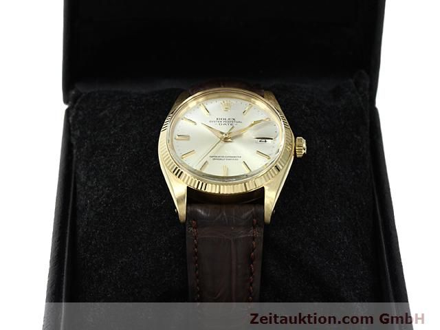 Used luxury watch Rolex Date 18 ct gold automatic Kal. 1560 Ref. 1503  | 140465 07