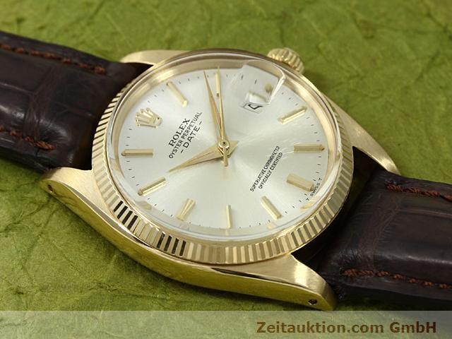 Used luxury watch Rolex Date 18 ct gold automatic Kal. 1560 Ref. 1503  | 140465 12