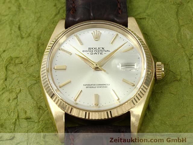 Used luxury watch Rolex Date 18 ct gold automatic Kal. 1560 Ref. 1503  | 140465 13