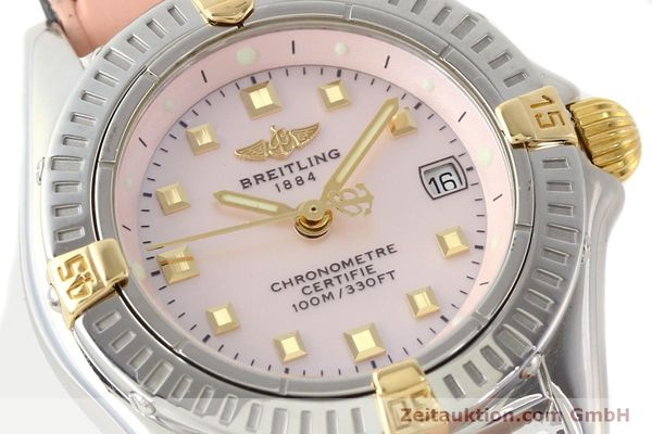 Used luxury watch Breitling Windrider gilt steel quartz Ref. B72345  | 140467 02
