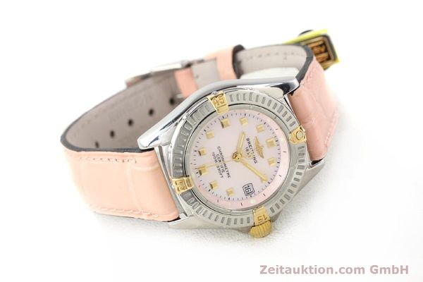 Used luxury watch Breitling Windrider gilt steel quartz Ref. B72345  | 140467 03