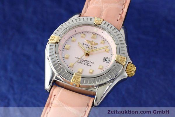 Used luxury watch Breitling Windrider gilt steel quartz Ref. B72345  | 140467 04