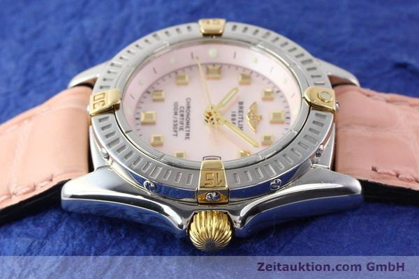 Used luxury watch Breitling Windrider gilt steel quartz Ref. B72345  | 140467 05