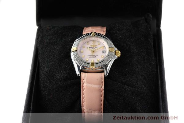 Used luxury watch Breitling Windrider gilt steel quartz Ref. B72345  | 140467 07