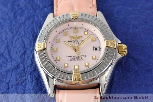 Used luxury watch Breitling Windrider gilt steel quartz Ref. B72345  | 140467 13