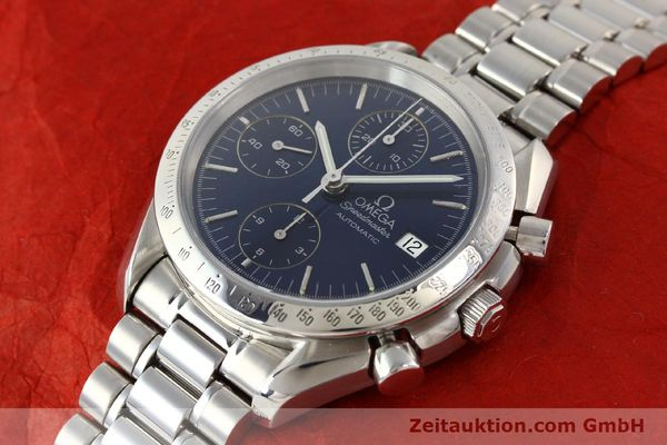 Used luxury watch Omega Speedmaster chronograph steel automatic Kal. 1152  | 140468 01