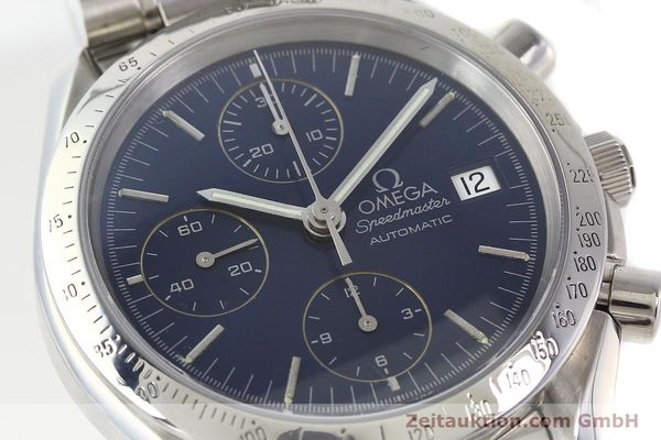 Used luxury watch Omega Speedmaster chronograph steel automatic Kal. 1152  | 140468 02