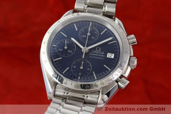 Used luxury watch Omega Speedmaster chronograph steel automatic Kal. 1152  | 140468 04