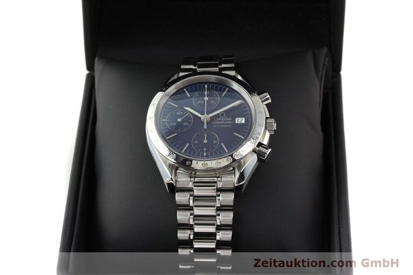 Used luxury watch Omega Speedmaster chronograph steel automatic Kal. 1152  | 140468 07