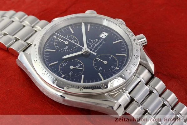 Used luxury watch Omega Speedmaster chronograph steel automatic Kal. 1152  | 140468 15