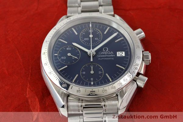 Used luxury watch Omega Speedmaster chronograph steel automatic Kal. 1152  | 140468 16