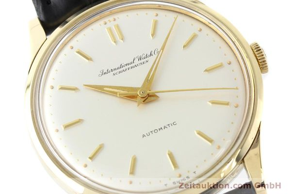Used luxury watch IWC * 14 ct yellow gold automatic Kal. C.853 Ref. 709A  | 140469 02