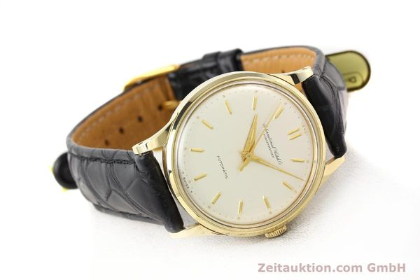 Used luxury watch IWC * 14 ct yellow gold automatic Kal. C.853 Ref. 709A  | 140469 03