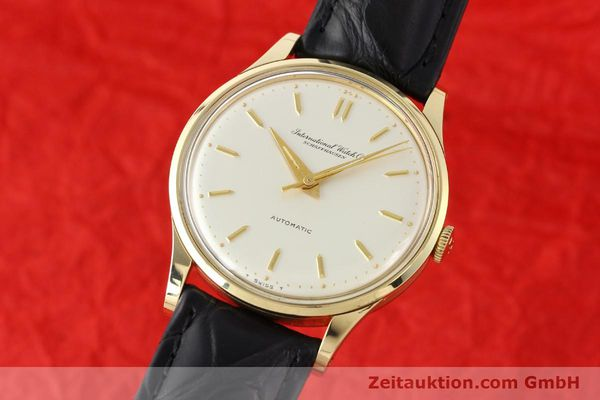 Used luxury watch IWC * 14 ct yellow gold automatic Kal. C.853 Ref. 709A  | 140469 04