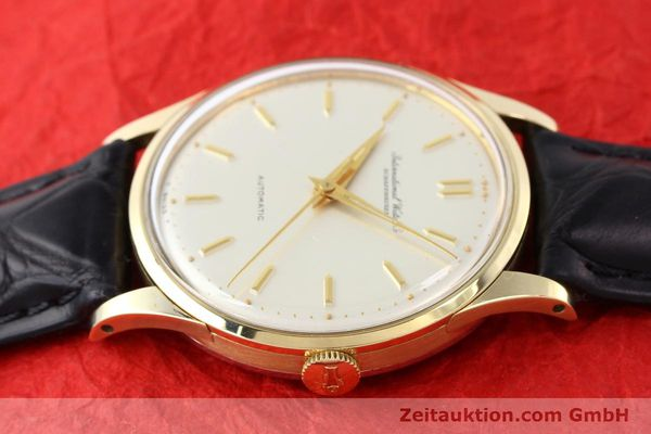 Used luxury watch IWC * 14 ct yellow gold automatic Kal. C.853 Ref. 709A  | 140469 05
