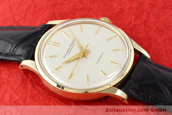 Used luxury watch IWC * 14 ct yellow gold automatic Kal. C.853 Ref. 709A  | 140469 13