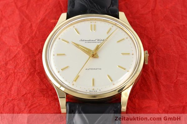 Used luxury watch IWC * 14 ct yellow gold automatic Kal. C.853 Ref. 709A  | 140469 14