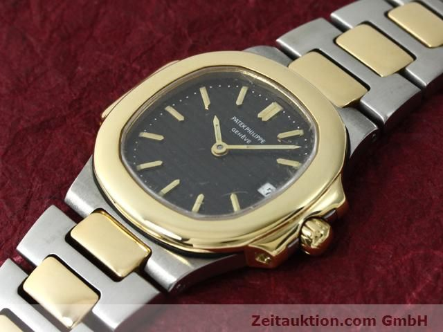 Used luxury watch Patek Philippe Nautilus steel / gold quartz  | 140470 01
