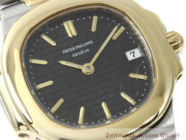 Used luxury watch Patek Philippe Nautilus steel / gold quartz  | 140470 02