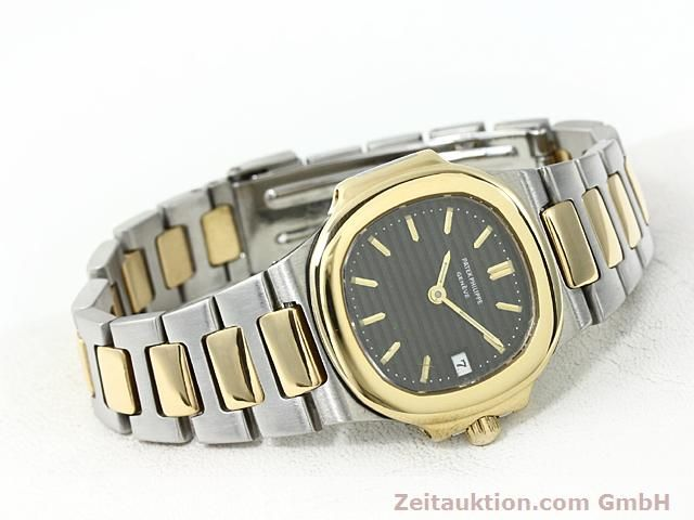 Used luxury watch Patek Philippe Nautilus steel / gold quartz  | 140470 03