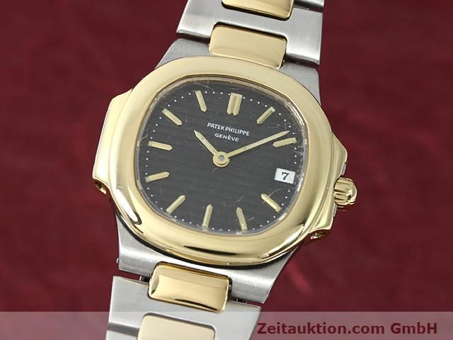 Used luxury watch Patek Philippe Nautilus steel / gold quartz  | 140470 04
