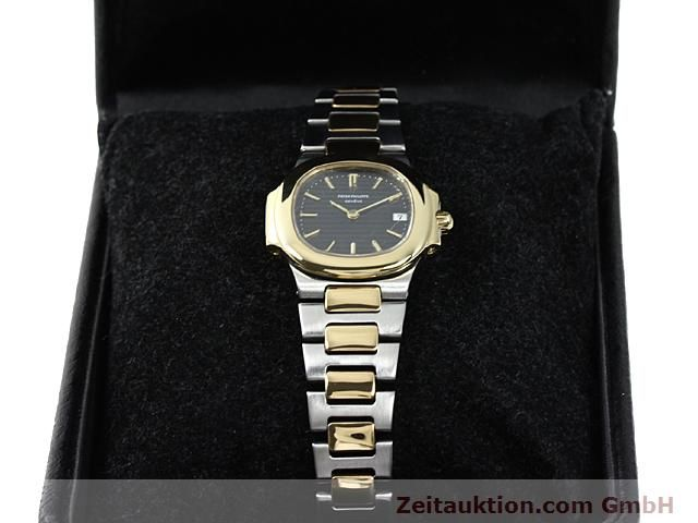 Used luxury watch Patek Philippe Nautilus steel / gold quartz  | 140470 07